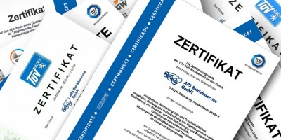 Neu ausgestelle Zertifikate